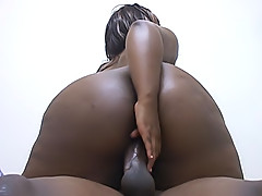 Fat and busty Showgurl gets fucked deep