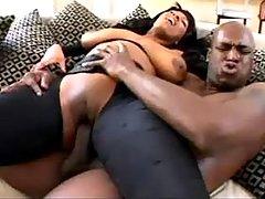 Ebony crazy cockriding
