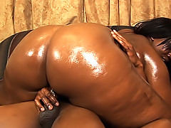 Tinah gets her big black body fucked