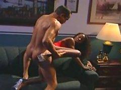 Guy DaSilva sticks it to a naughty nubian hottie