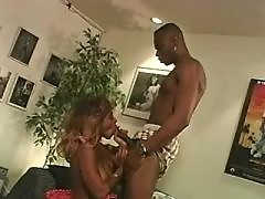 Ebony slut fucked hard