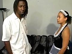 Best ebony porn video with lusty chicks